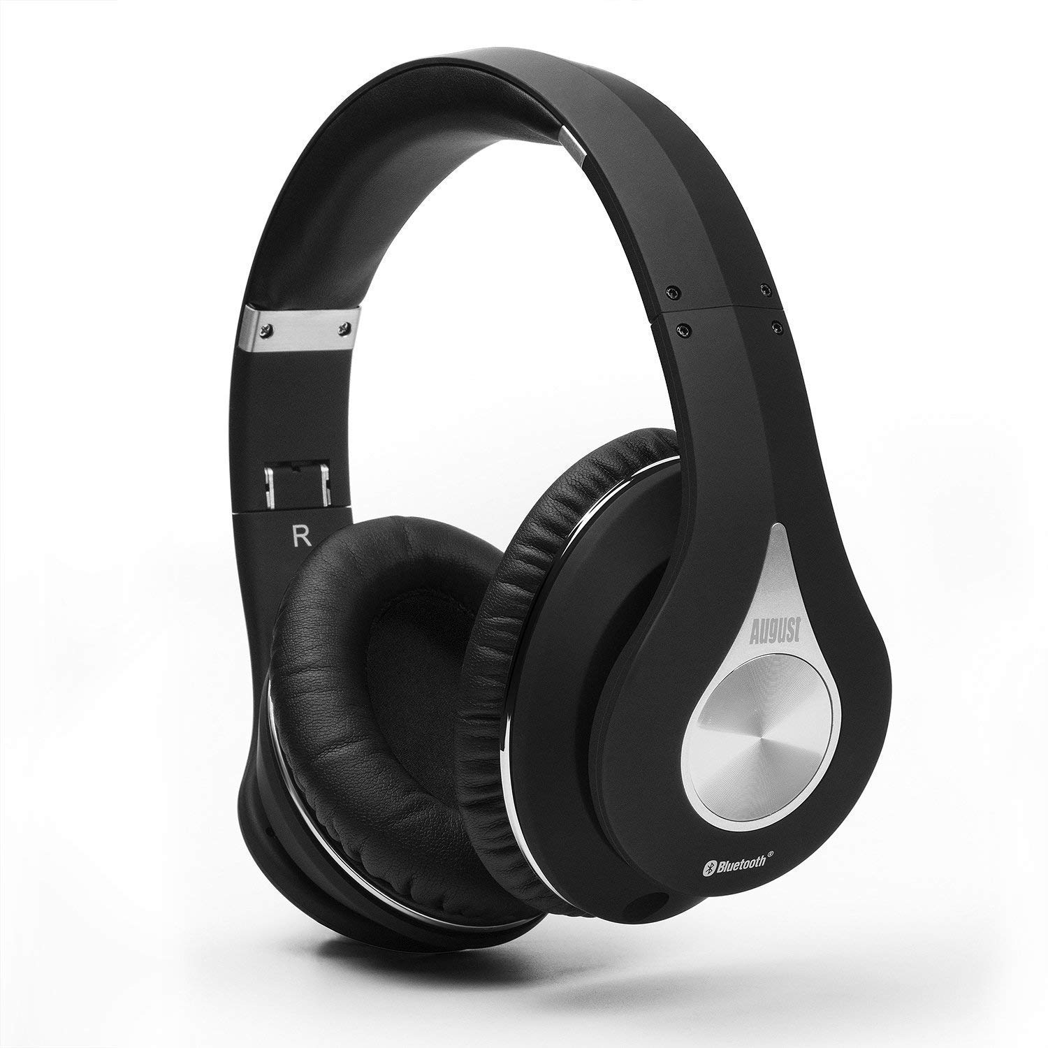 Bluetooth Wireless Stereo Headphones with NFC and aptX- Black