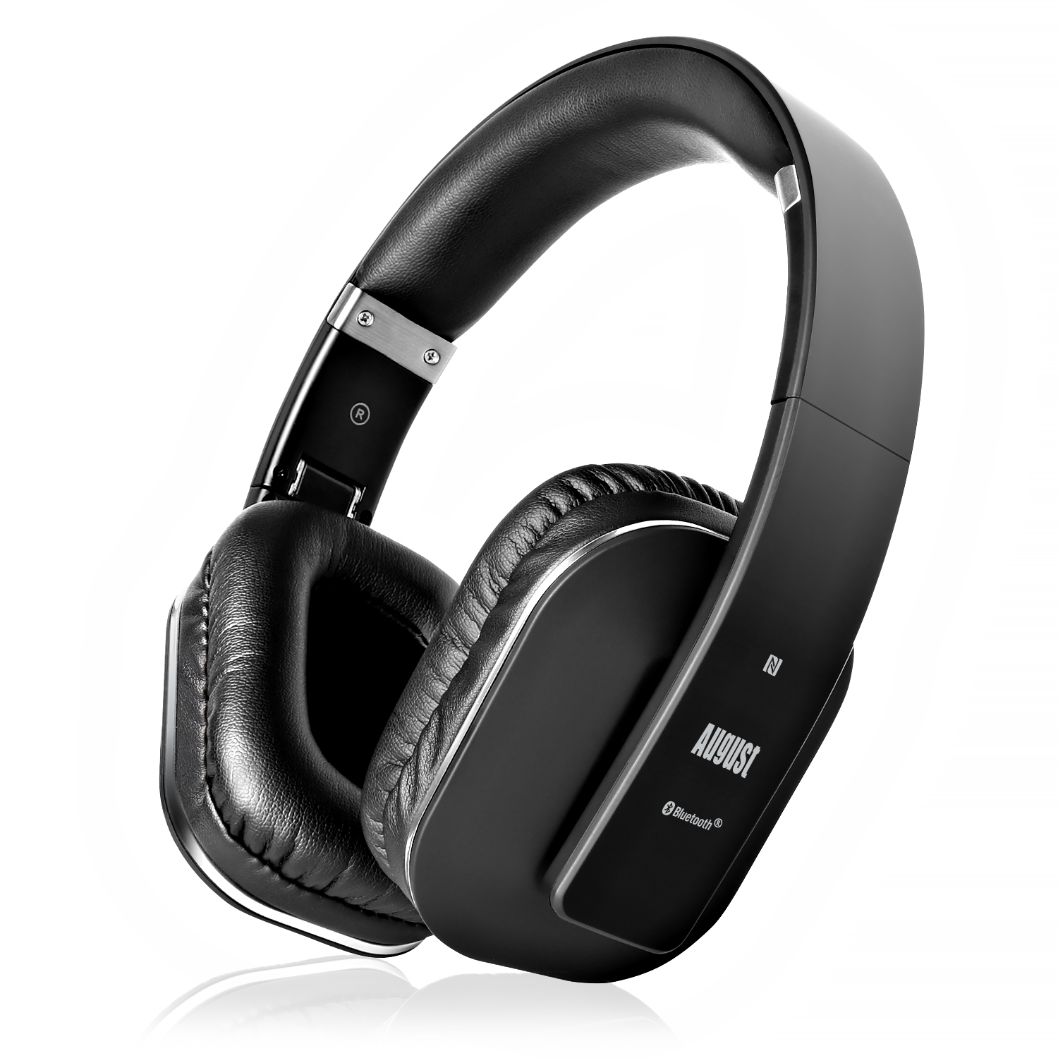 Bluetooth v4.2 Over Ear Wireless Headphones- Black